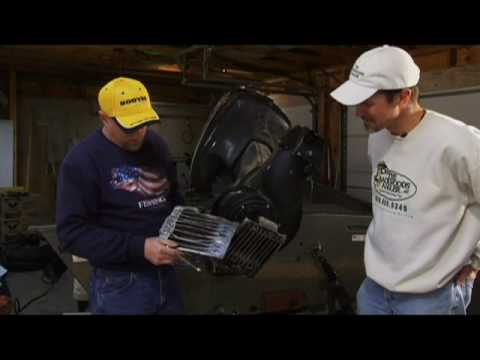 Outboard Jet Lower Unit Repair and Maintenance - Backwoods Angler TV