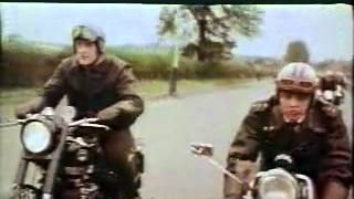 English Motorcycle Race - clip 18136