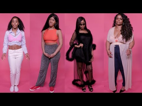 SAVAGE X FENTY BY RIHANNA LINGERIE REVIEW   4 DIFFERENT WOMEN TRY ON THE NEW LINE!