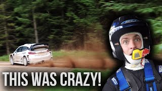 Inside A WRC Rally Car!!