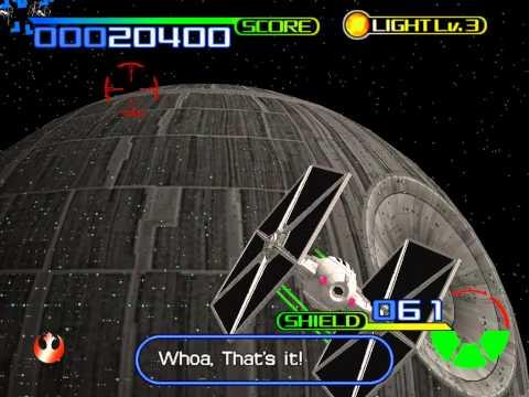 Star Wars: Trilogy - Arcade Gameplay