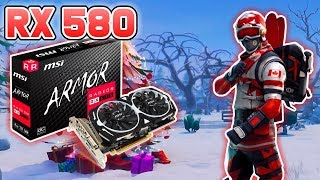 (OLD) Fortnite - MSI Radeon RX 580 ARMOR 8gb oc Graphics Card (Old video)