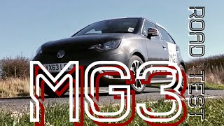 MG3 car review - Paul Woodford