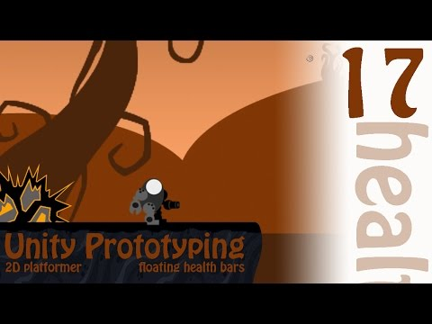 2D Prototyping in Unity - Tutorial - Platformer - Floating Health Bar