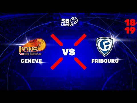 SB League - Final Day 3: GENEVE vs FRIBOURG