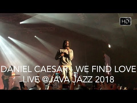 Daniel Caesar - We Find Love  (Live in Jakarta) HD #JJF2018