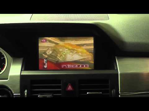 multimedia video interface for Mercedes