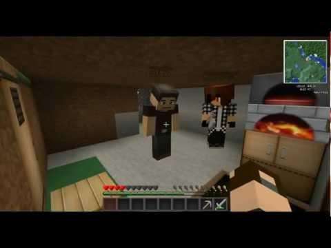 Survival Minecraft Выживание на зомби сервере