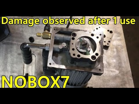 harbor freight 2 stage vacuum pump tear down