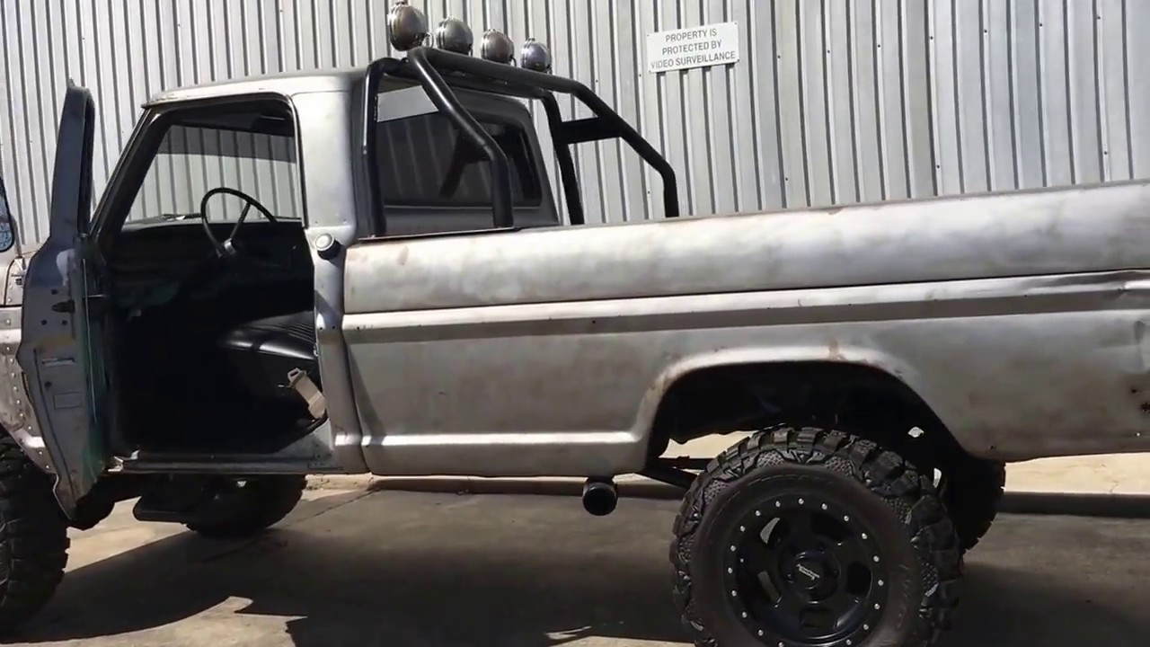 1968 Ford F100 4x4 Zombie Truck (3/2017) Video 1/3 - YouTube