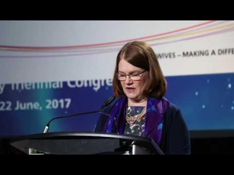 2017 ICM Congress: Canada's Minister of Health, Jane Philpott