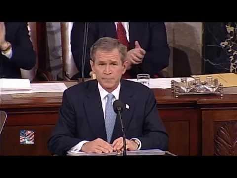 President George W.  Bush - State of the Union Address 2002