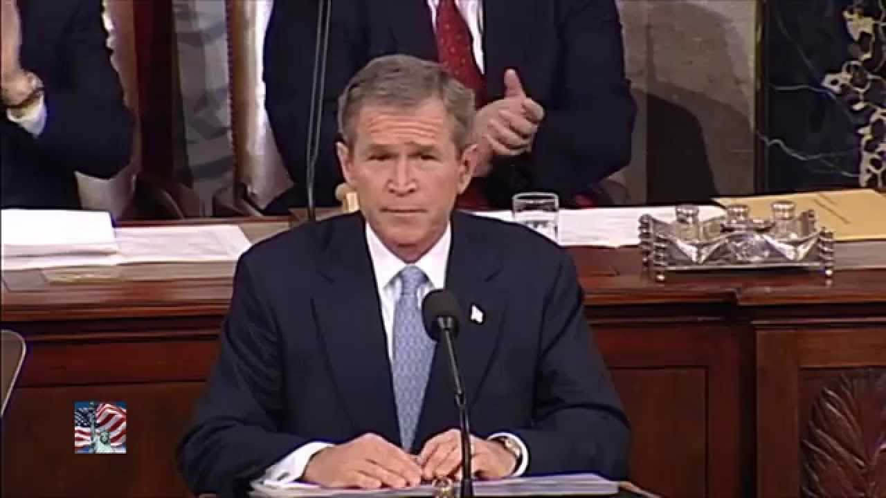 analysis george w bush s 9 11 speech congress Analysis of george w bush's 9/11 speech to congress essay usually using pathos, it would be a simple task for bush to win over congress.