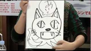 みもりんハッピーを描く&小野涼子さん絵かわいい アニメ『FAIRY TAIL』