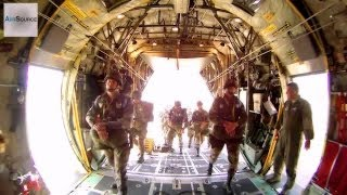 Forcible Entry Exercise, C-130H Airdrops.