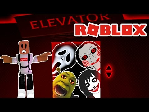 STUCK IN THE SCARY ELEVATOR IN ROBLOX