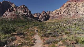 Red Rock Canyon Aerial Highlight ~ 4K