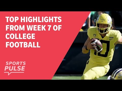Top highlights from Week 7 of college football
