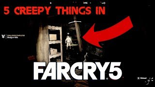 5 Creepy Things In Far Cry 5 Hd