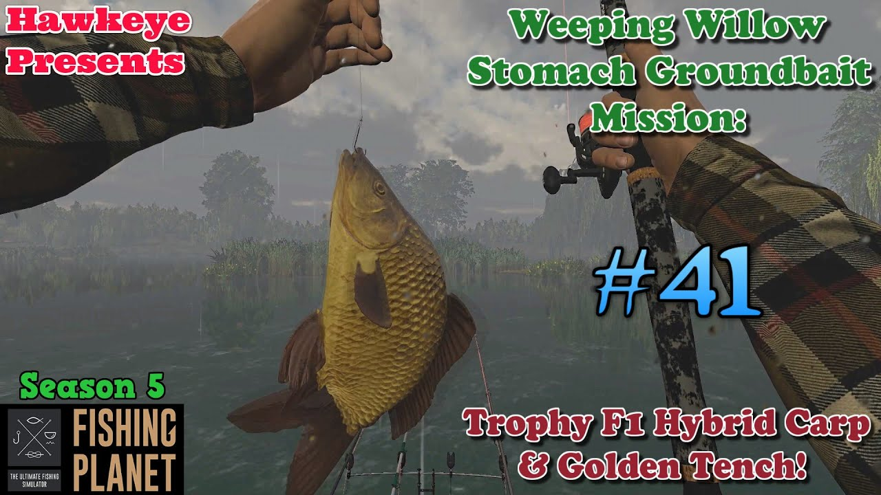 Fishing Planet #41 - S5   WW Stomach Groundbait Mission: Trophy F1 Hybrid Carp & Golden Tench!