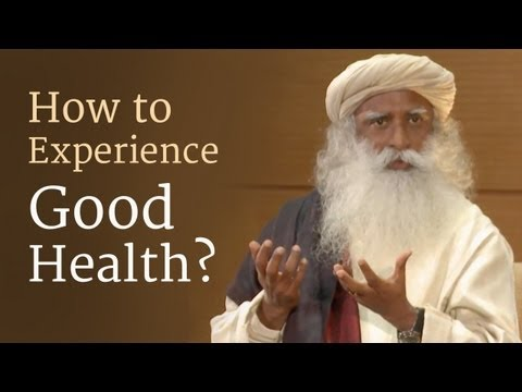 How to Experience Good Health? - Sadhguru at Duke University with Tracy Gaudet