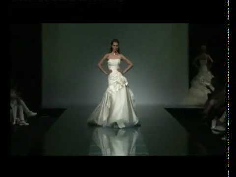 d9a55ff4b4d4 Collezioni abiti da sposa 2010 Fabio Gritti - YouTube