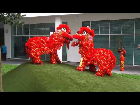 Lion Dance at Garden Plaza, Cyberjaya