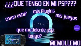 ¿Que tengo en mi PSP? | Mostrando mi PSP |