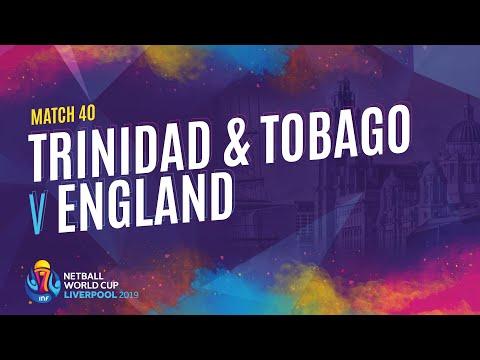 Trinidad & Tobago v England | Match 40 | NWC2019