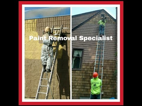 Rhode Island Mobile Sandblasting /Sodablasting Service. Residential-Commercial. RI,CT,MA