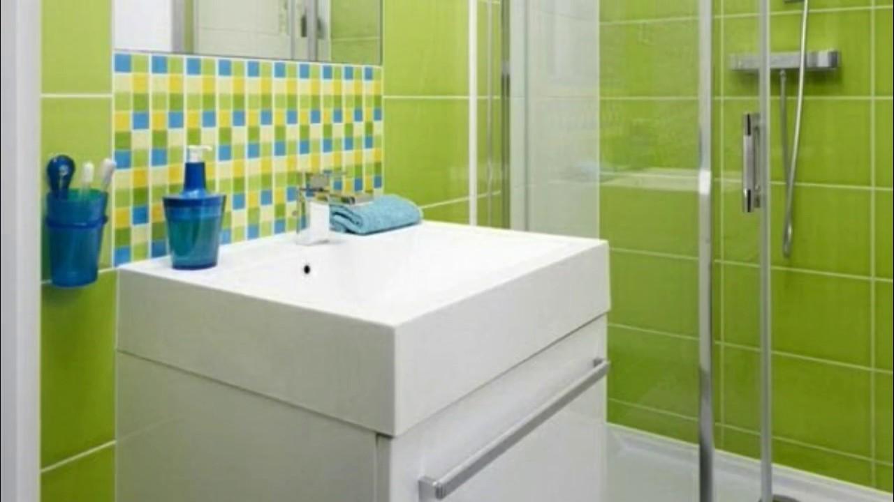 Badezimmer Fliesen Braun Grun Youtube
