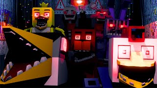- Five Nights at Freddy s Movie Animated Minecraft Animation