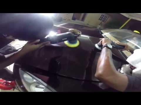 Porsche Panamera Rupes machines correction