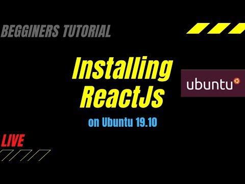 Installing React