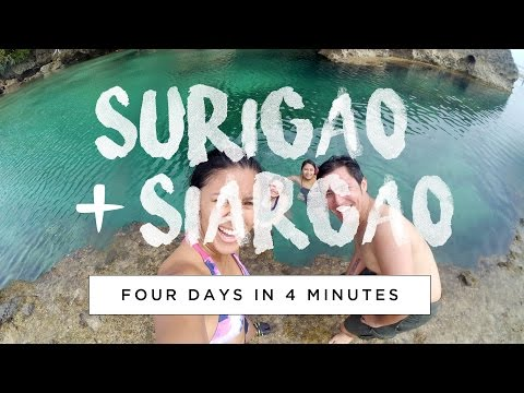 Exploring Surigao & Siargao: 4 Days in 4 Minutes
