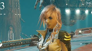 [4K60] Mobius Final Fantasy PC Walkthrough - FFXIII: Lightning Resurrection - Part 3 (English)