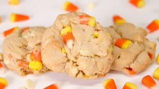 White Chocolate Candy Corn Cookies From Cookies Cupcakes And Cardio