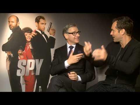 Jude Law reveals his Spy name...