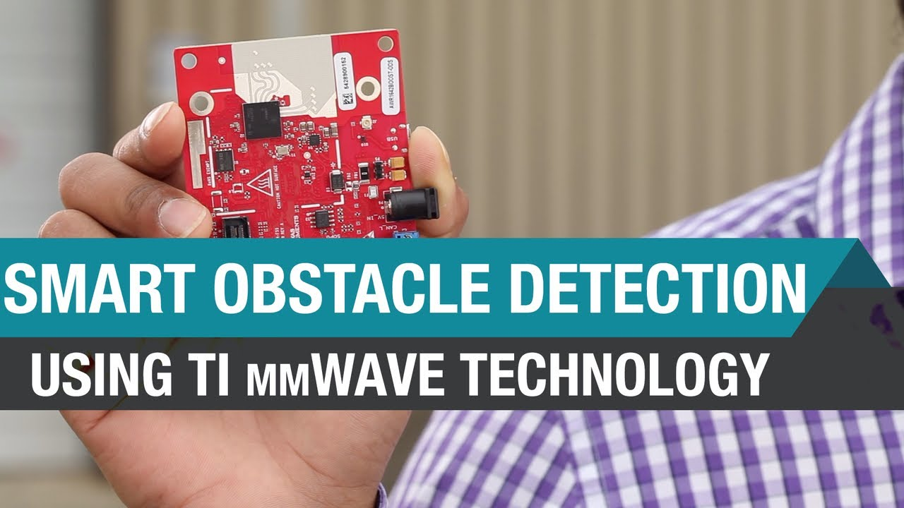 Obstacle Detection using TI mmWave Sensors