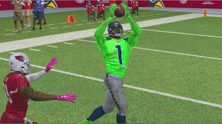 Madden 17 career mode wr ep 7 - russell wilson breaking records!