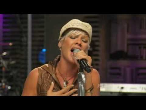 P!nk Who Knew AOL Sessions MUsic 2008