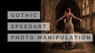 SPEEDART #2 - GOTHIC - PHOTOSHOP MANIPULATION