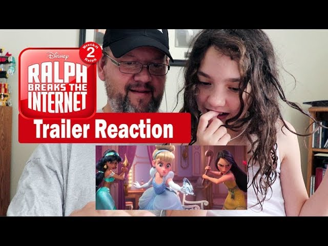 Ralph Breaks the Internet Wreck it Ralph 2 Official Trailer Reaction