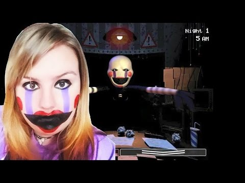 Cosplay Tutorial: FNAF 2 ~ Marionette - YouTube