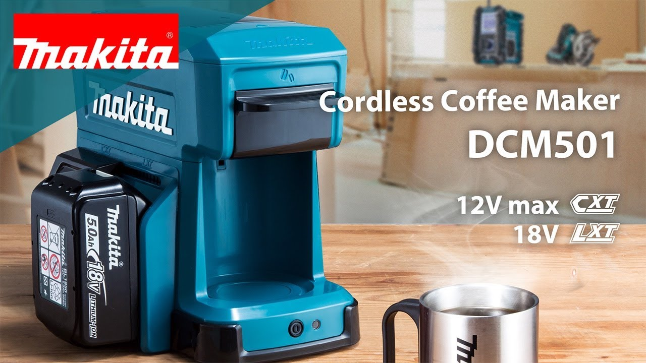 Cordless Coffee Maker Dcm501