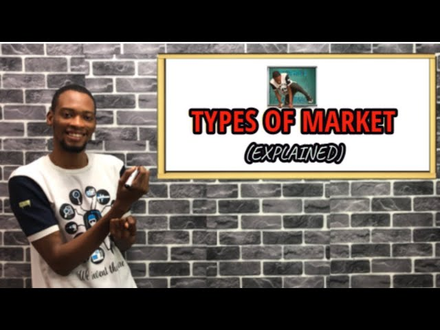 Types of Market (Individual And Industrial) | For Jamb, Waec & Post UTME
