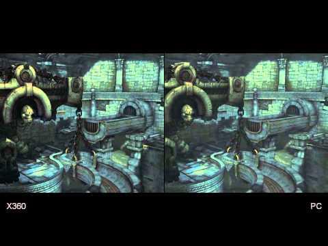 Darksiders II Xbox 360/PS3/PC Comparison HD