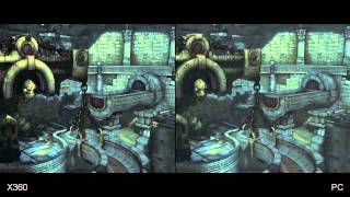 Darksiders II Xbox 360/PS3/PC Comparison HD