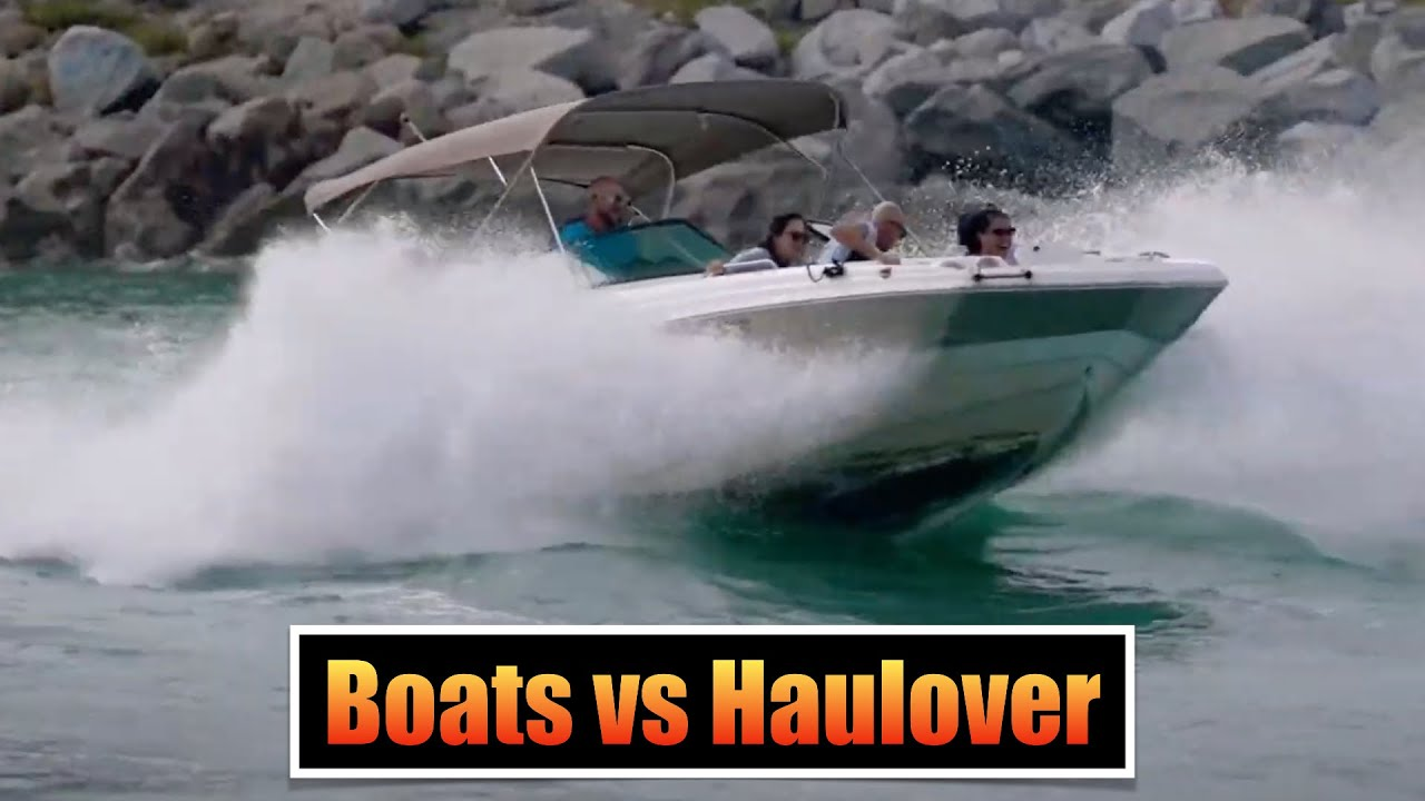 Download Lake Boat Does Battle With Haulover   Boats vs Haulover Inlet