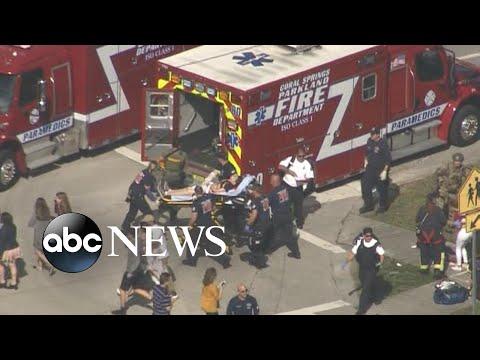17 confirmed dead in Florida school shooting, suspect in custody